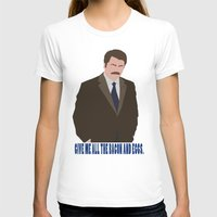 swanson T-shirts featuring The Swanson by sens