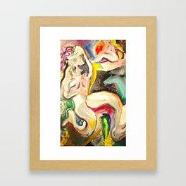 """""""Reverse frustrate on TV illuminate"""" Framed Art Print"""