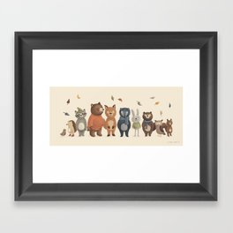 All Together Framed Art Print