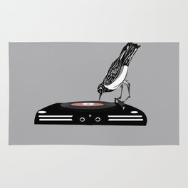 DJ magpie Rug