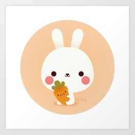 Friday Carrot Art Print