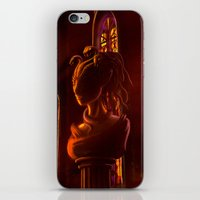 castlevania iPhone & iPod Skins featuring Castlevania: Medusa's Room by FirebornForm