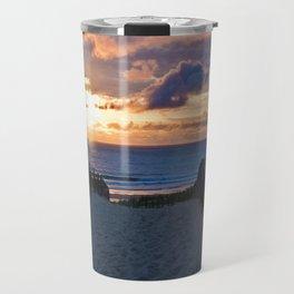 way to the beach 2 Travel Mug