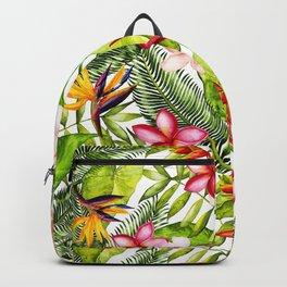 My Aloha Tropical Flower Hibiscus Garden Backpack