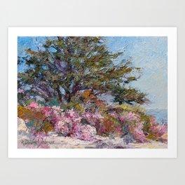 In The Pink — Point Lobos, Carmel, California Art Print
