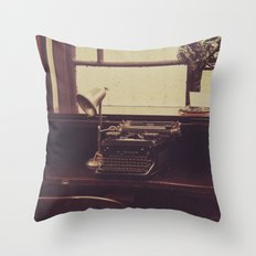 mold and cold Throw Pillow