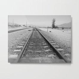 Tracks to Anywhere Metal Print