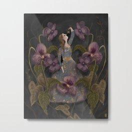 Flower Eater Metal Print