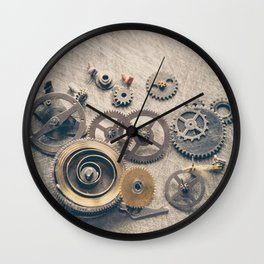 Watch Cogs and Gears Wall Clock