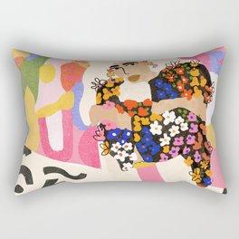 World Full Of Colors Rectangular Pillow