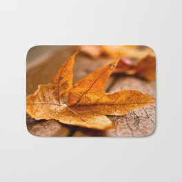 Autumn Cometh Bath Mat