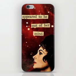 Out of Her Mind... iPhone Skin