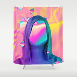 Tirano II Shower Curtain
