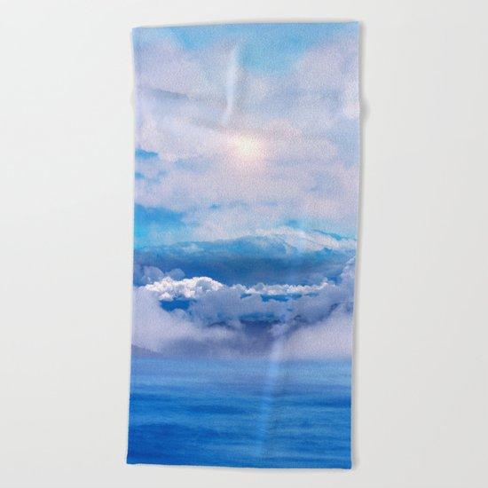 Pastel vibes 47 Beach Towel