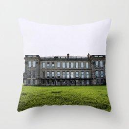 Spendid histories - Calke Abbey Derbyshire Throw Pillow