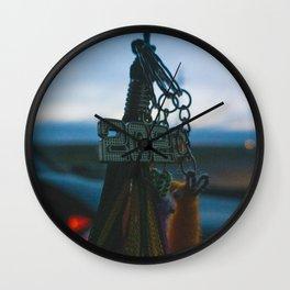 2020 Grad Tassel Keychain (Dark) Wall Clock