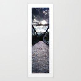 Dark Overpass Art Print