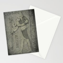I. Forgotten Ruins - Anubis Stationery Cards