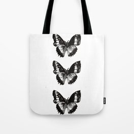 Butterfly Etch Series. Tote Bag