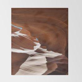Antelope  Canyon #6 Throw Blanket