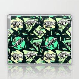 90's Dinosaur Skeleton Neon Pattern Laptop & iPad Skin