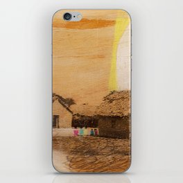 """each village"" iPhone Skin"
