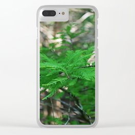 Shadowed Stories Clear iPhone Case