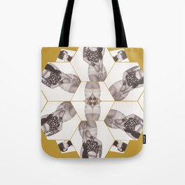 Broken up Tote Bag