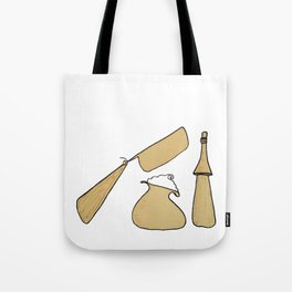 Shave Like A Man Tote Bag