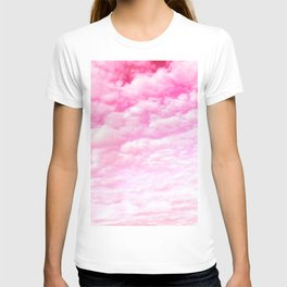 Pink cotton Candy Sky T-shirt
