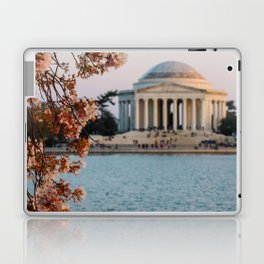 Cherry Blossoms at the Jefferson Laptop & iPad Skin