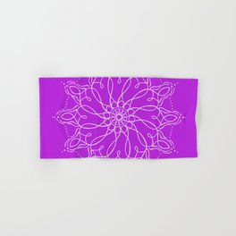 Divine Mothers of Light - Violet Hand & Bath Towel