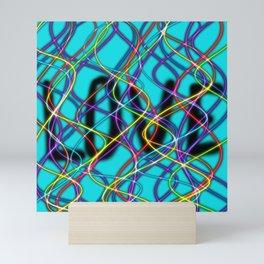 Love Show-Aqua Mini Art Print