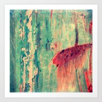 chaos Art Prints featuring Chaos by Claudia Drossert