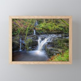 Woodland Falls Framed Mini Art Print