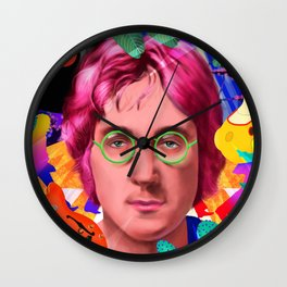 John Lennon's ART Wall Clock