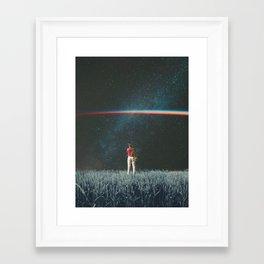 Saw The Light Framed Art Print