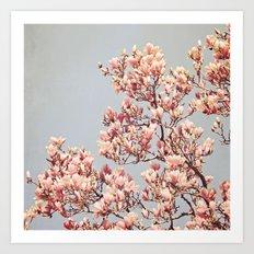 Magnolia's Drive Art Print