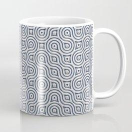 Silver Truchet Tilling Coffee Mug