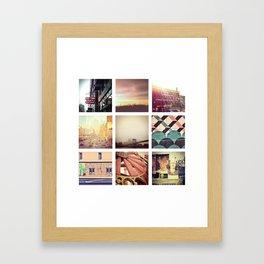New York Scenes Framed Art Print