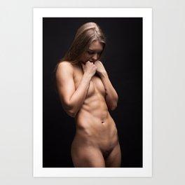 bodyscape_9285 Art Print