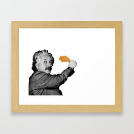 h u n g r y / e i n s t e i n Framed Art Print