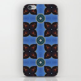 Abstract Flower Pattern iPhone Skin