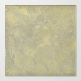 Champagne Skies Silver And Gold Metallic Plasters - Fancy Faux Finishes Canvas Print