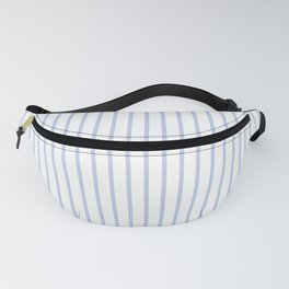 Alice Blue Pinstripe on White Fanny Pack