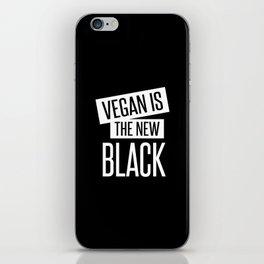 vegan is the new black. iPhone Skin