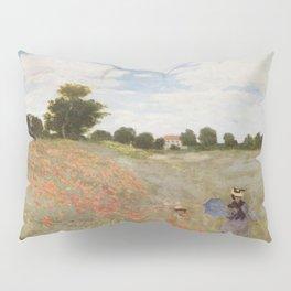 Claude Monet's Coquelicots: La Promenade Pillow Sham