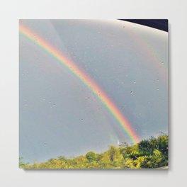 Double Rainbow 3 Metal Print