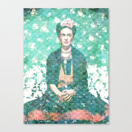 Sueños de Frida Canvas Print