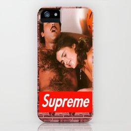 Supreme Ron Jeremy Blood Money iPhone Case